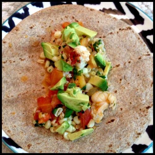 Tequila Shrimp Tacos